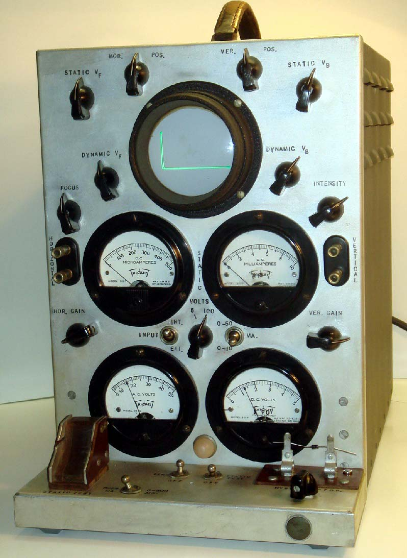 Old Ge Test Instruments : Vintage test equipment