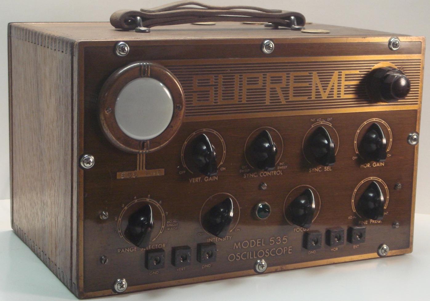 Old Ge Test Instruments : Vintage test equipment