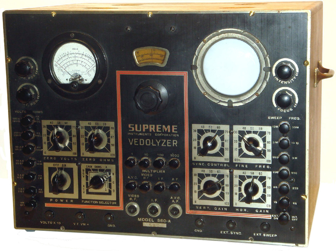 Vintage electronic test equiptment